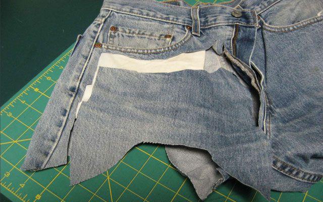 Из старых джинсов своими руками 17