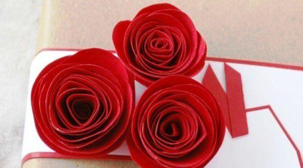 Розы из бумаги своими руками 1