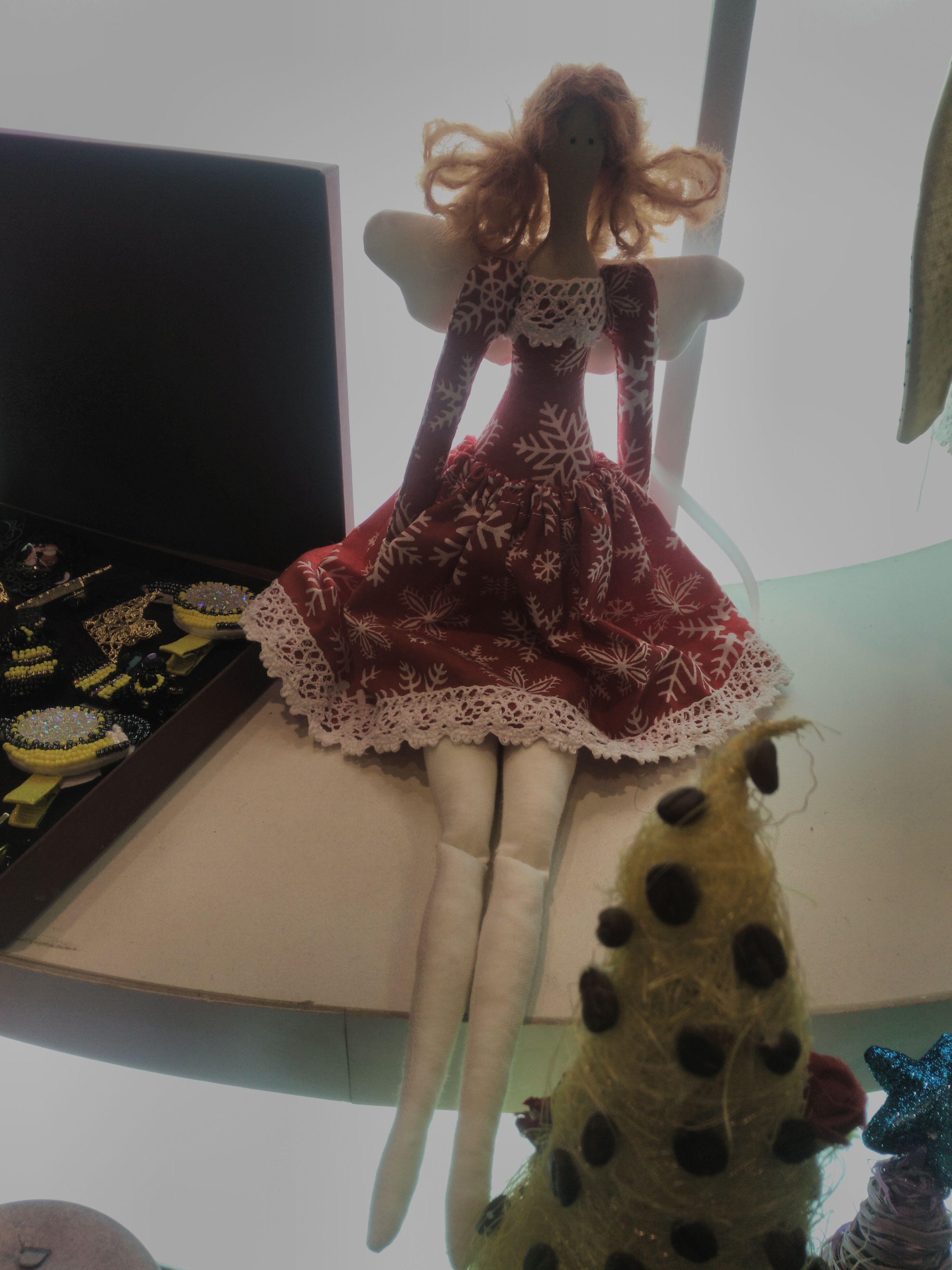 кукла ангел текстильная тильда