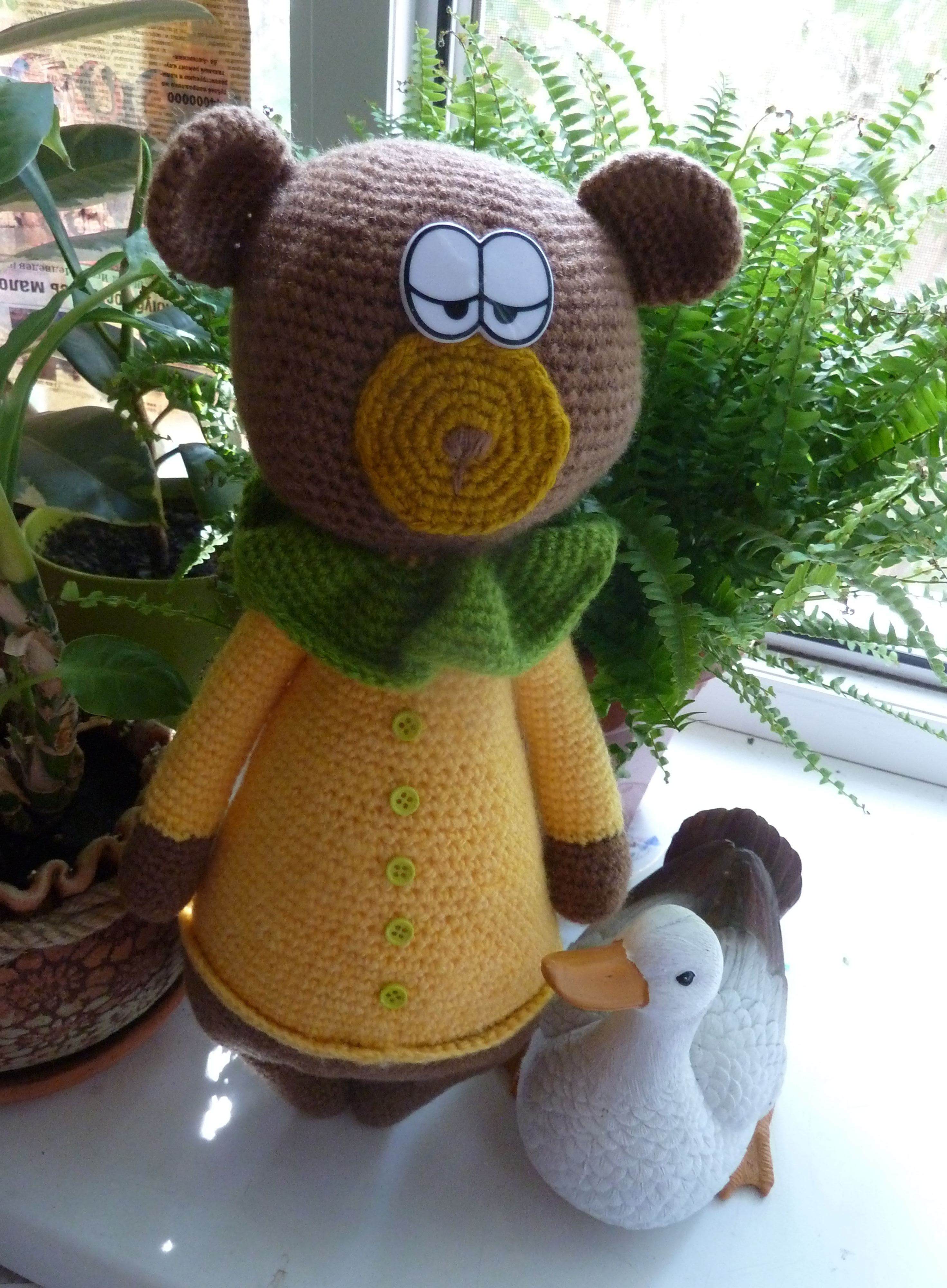мишка медведь игрушки ручнаяработа дети