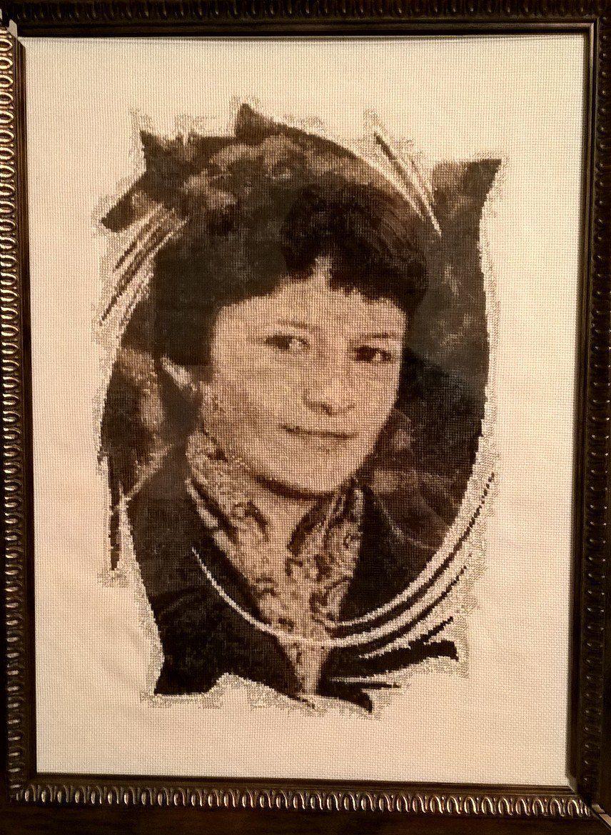 вышивка портреты оригинальные картины подарки