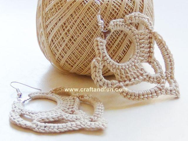 идеи своими вязание серьги подарка крючком руками сделай сам