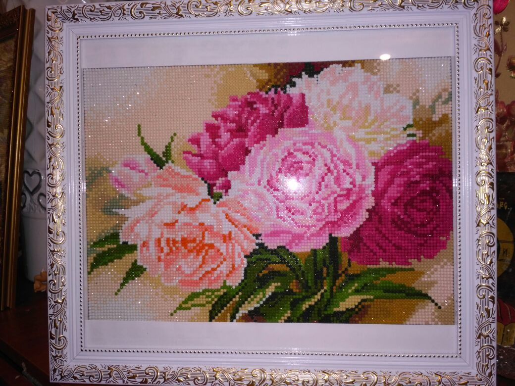 цветы подарок картина