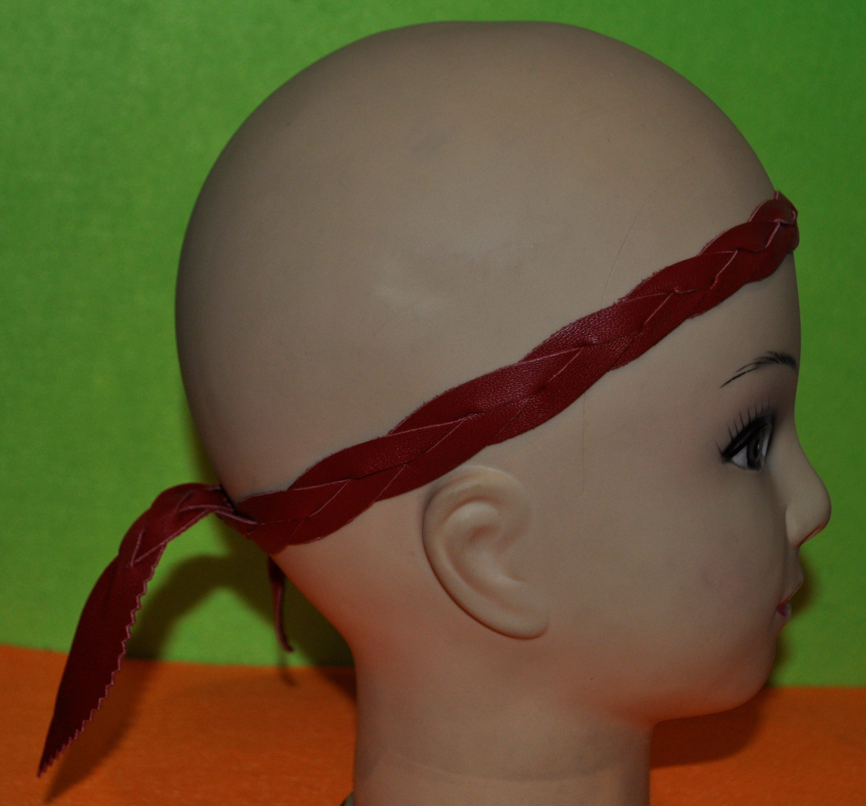 голову женские повязки кожи натуральной хиппишик