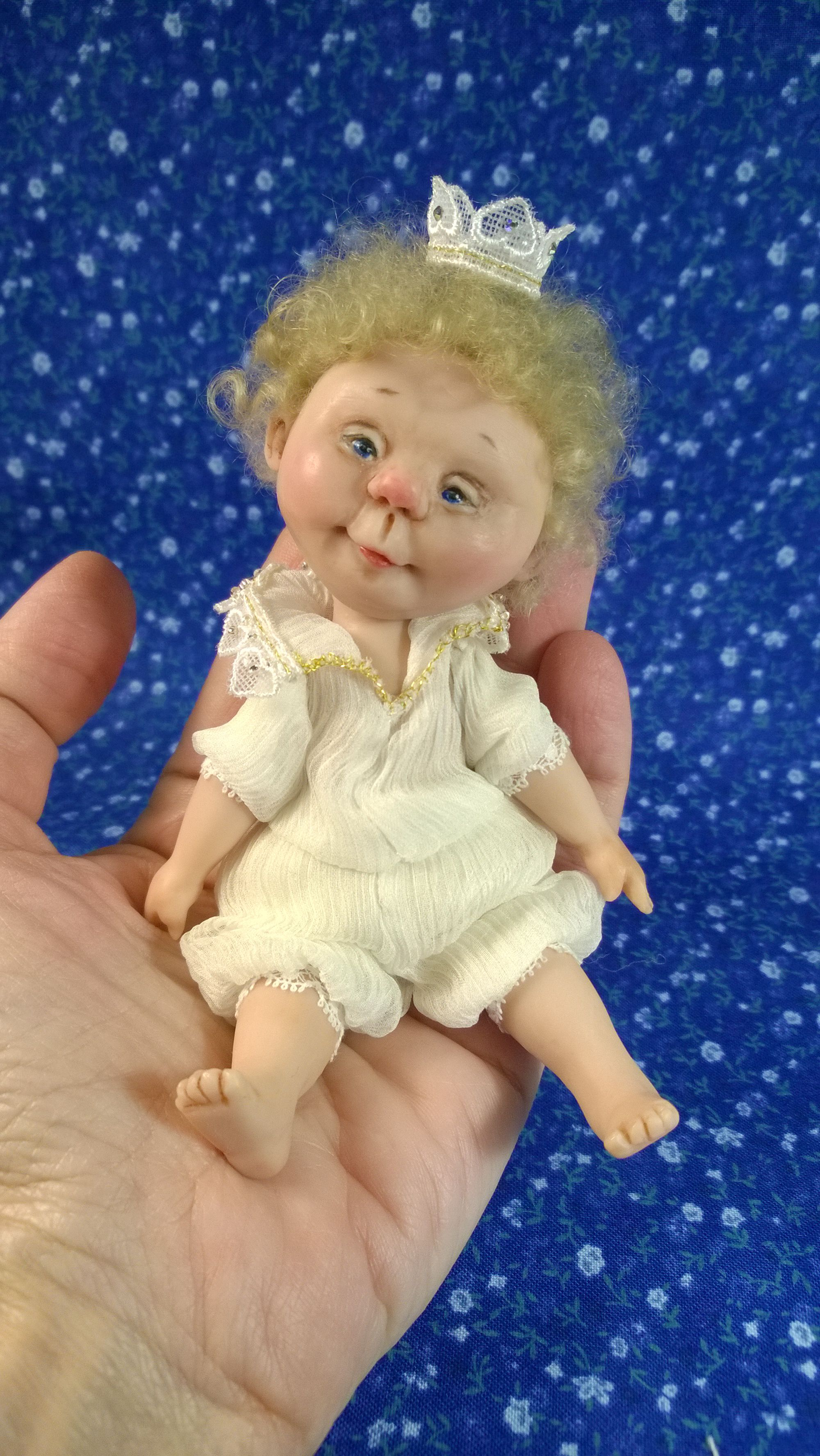 авторская принц кукла маленький подарок