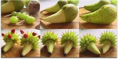 Поделки из фруктов своими руками 4
