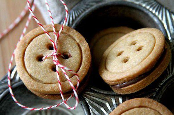 креативнаяидея рецепт десерт печеньепуговицы пуговки необычноепеченье вдохновение рецептпеченья сделайсам кчаю вкусно креатив своимируками хендмейд
