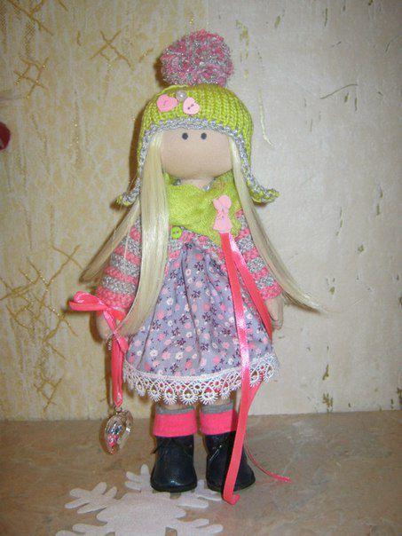 девушкам кукла праздник интерьер подарок