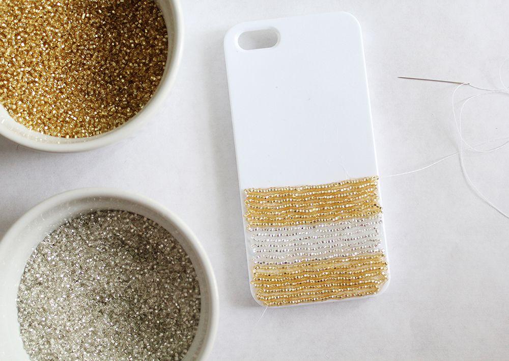 телефона бисера украшения бисер для чехол из руками своими подарок