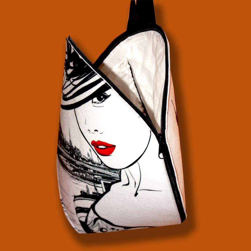 женщине подарок купить работа эксклюзивный рюкзак ручная женски текстиль продажа креатив сумка рюкзаки кошельки стильный чернобелый сумки сумочка девушке модный