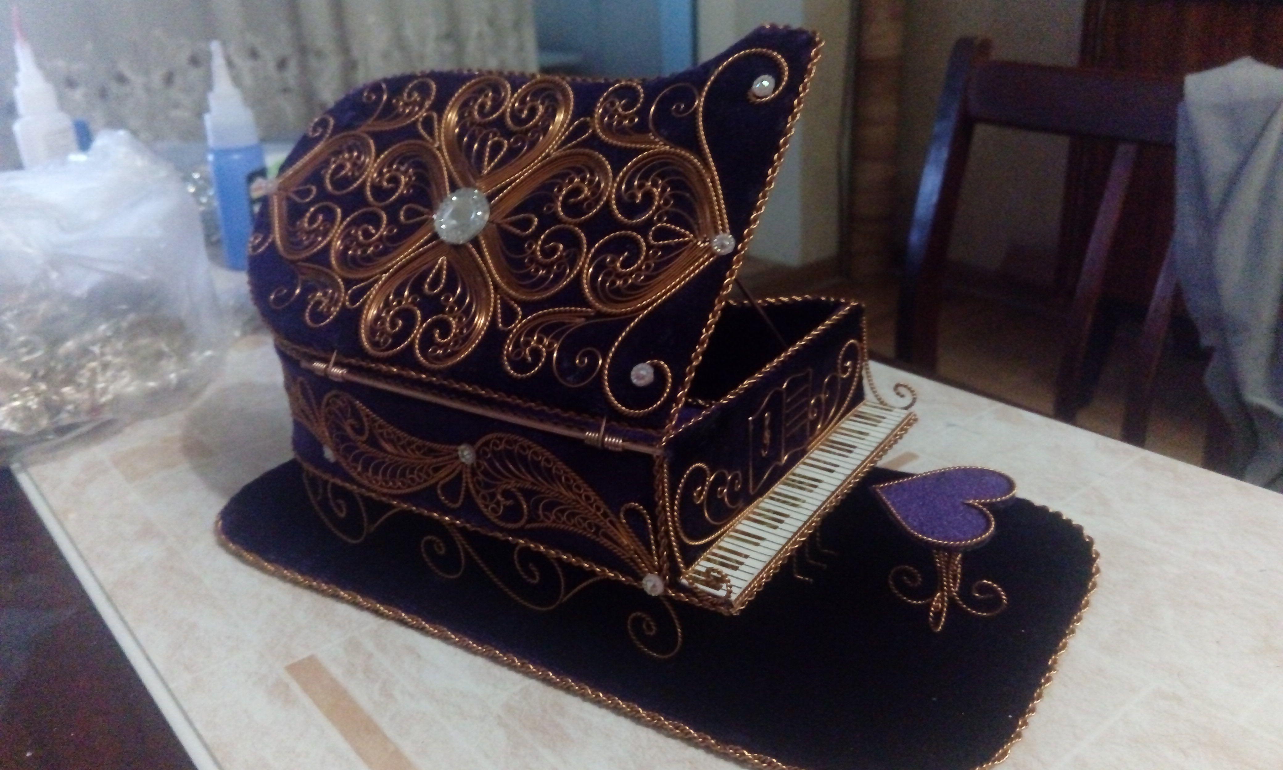 рояль работа икона скань ручная филигрань