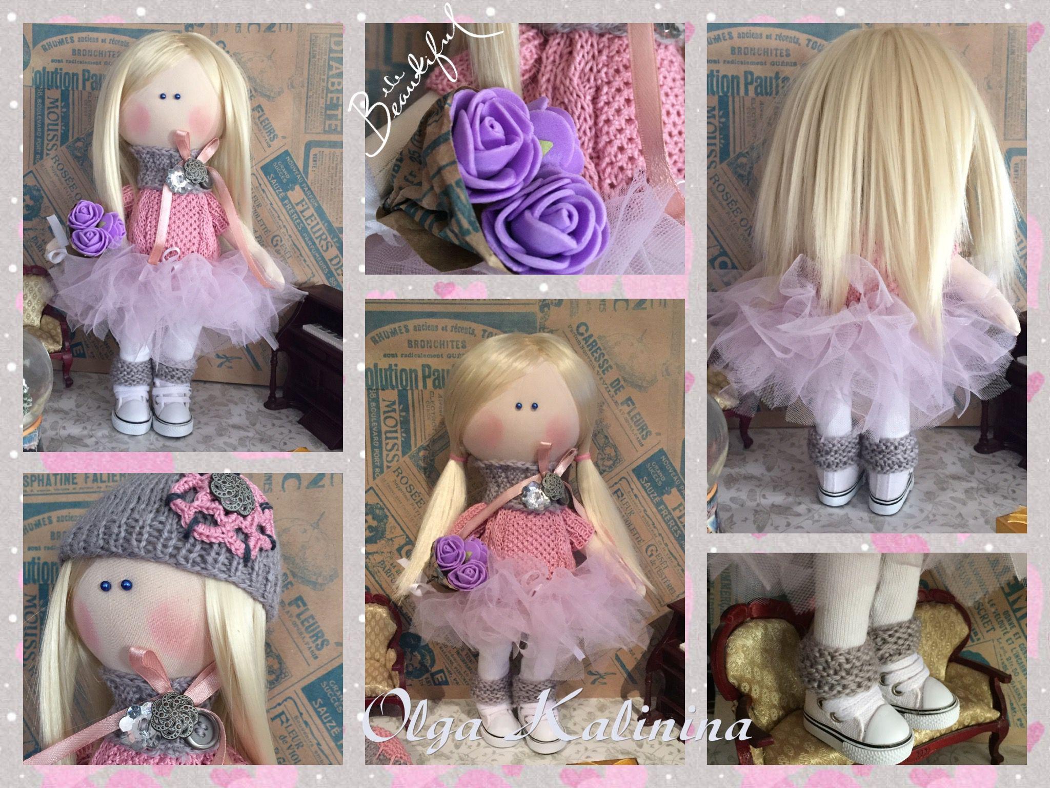детскаякомната ручнаяработа кукла