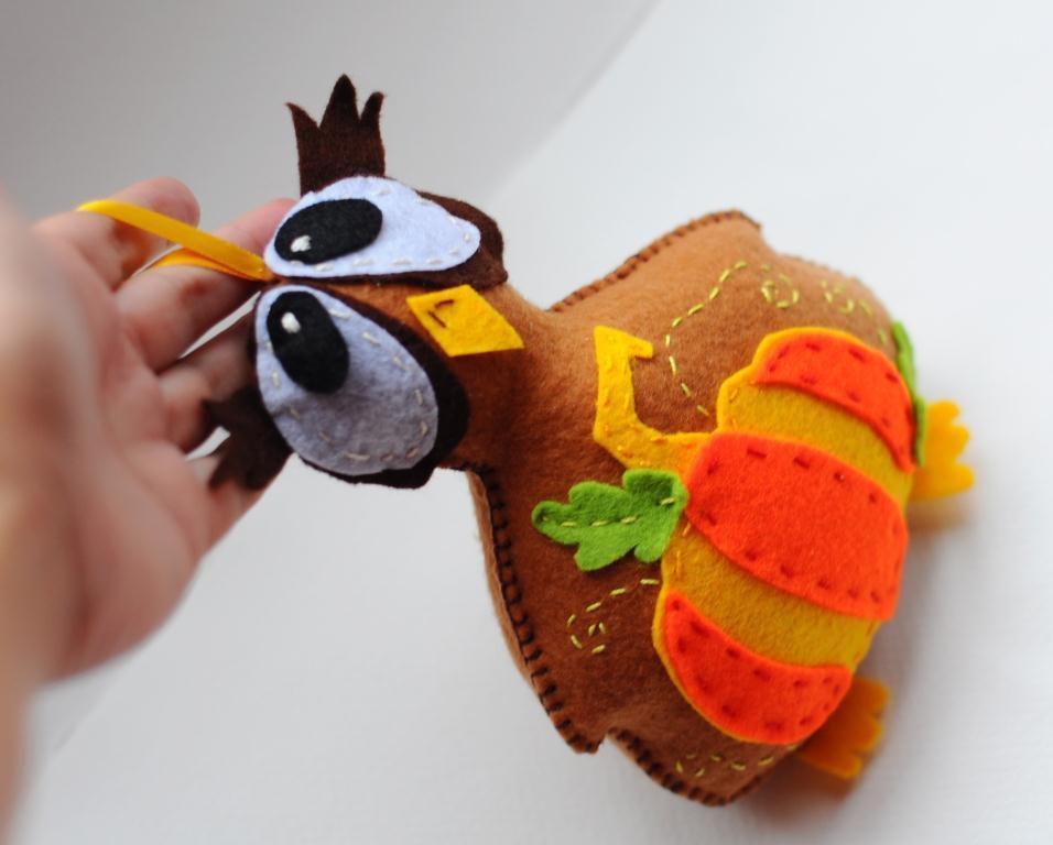 аппликация фетр игрушка мастеркласс