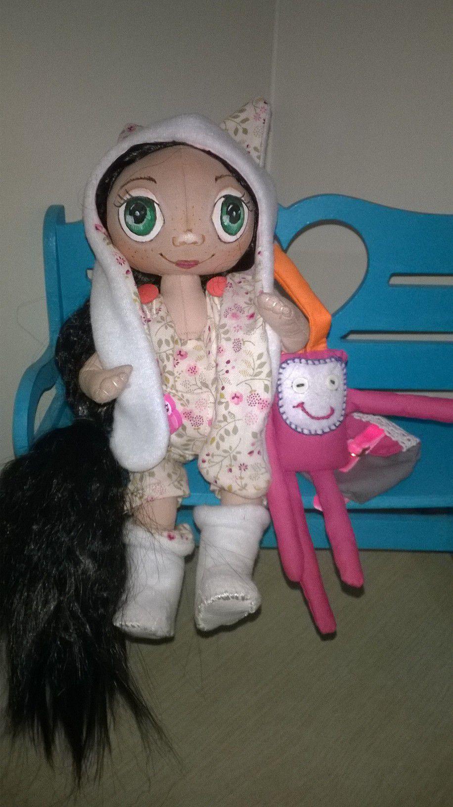 doll подарок декор игра текстильные куклы