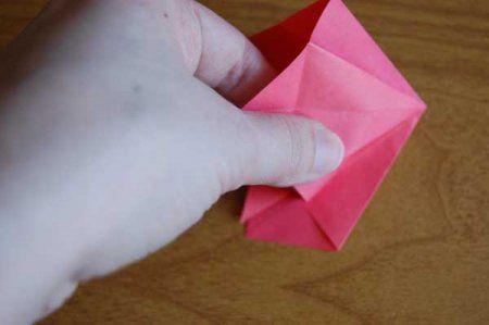 Оригами из бумаги цветы 30