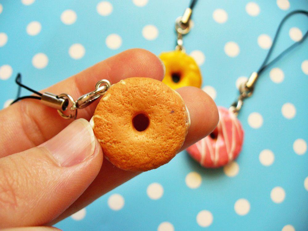 брелок лавкалисицы полимернаяглина пончик