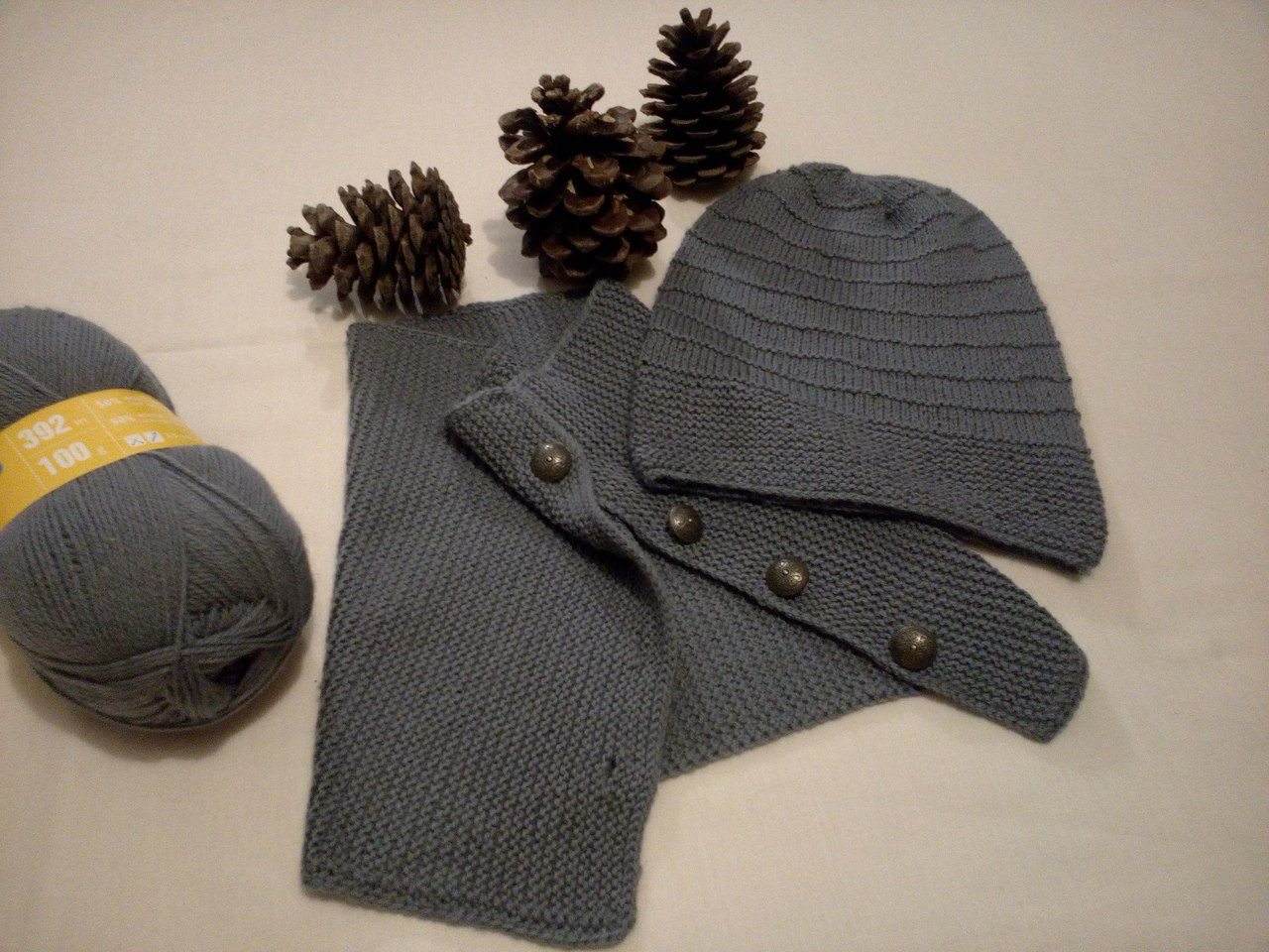 снуд шапка вязание