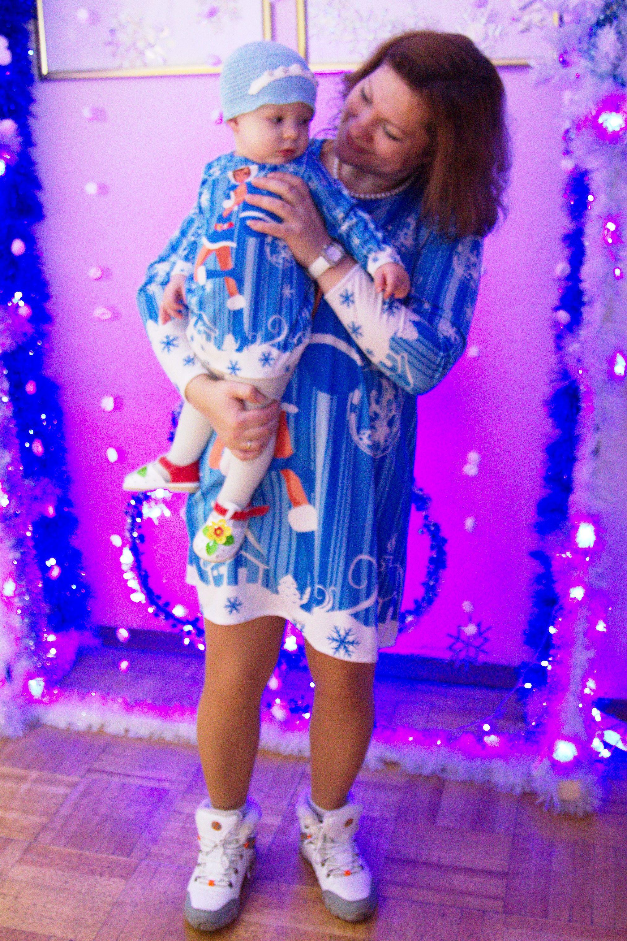дочки семейный новогоднее красивое нарядное мамы костюмы лук девочки фемели новый одежда детская ручная платья праздник девочкам для продажа купить новогодние женская работа family look шитьё год стиль платье