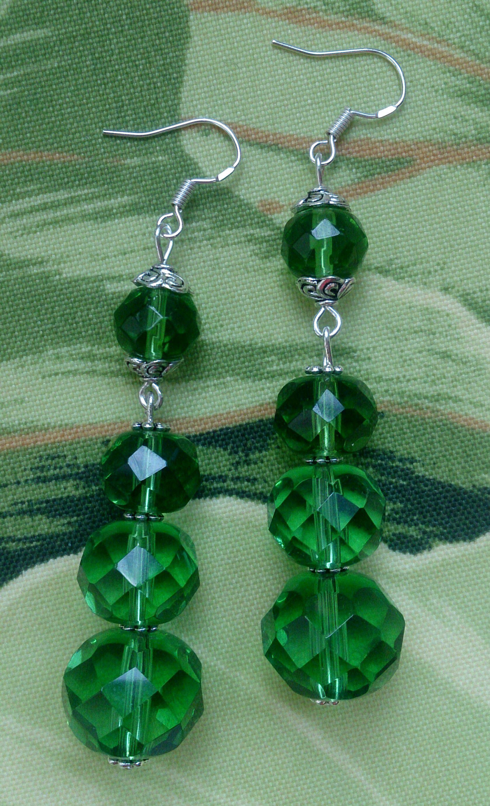 изумруд зеленый серьги комплектукрашений гипоаллергенные ручнаяработа браслет подарок