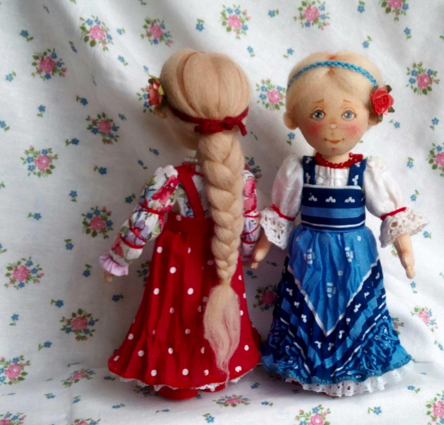 Народные куколки из ткани своими руками без шитья 84
