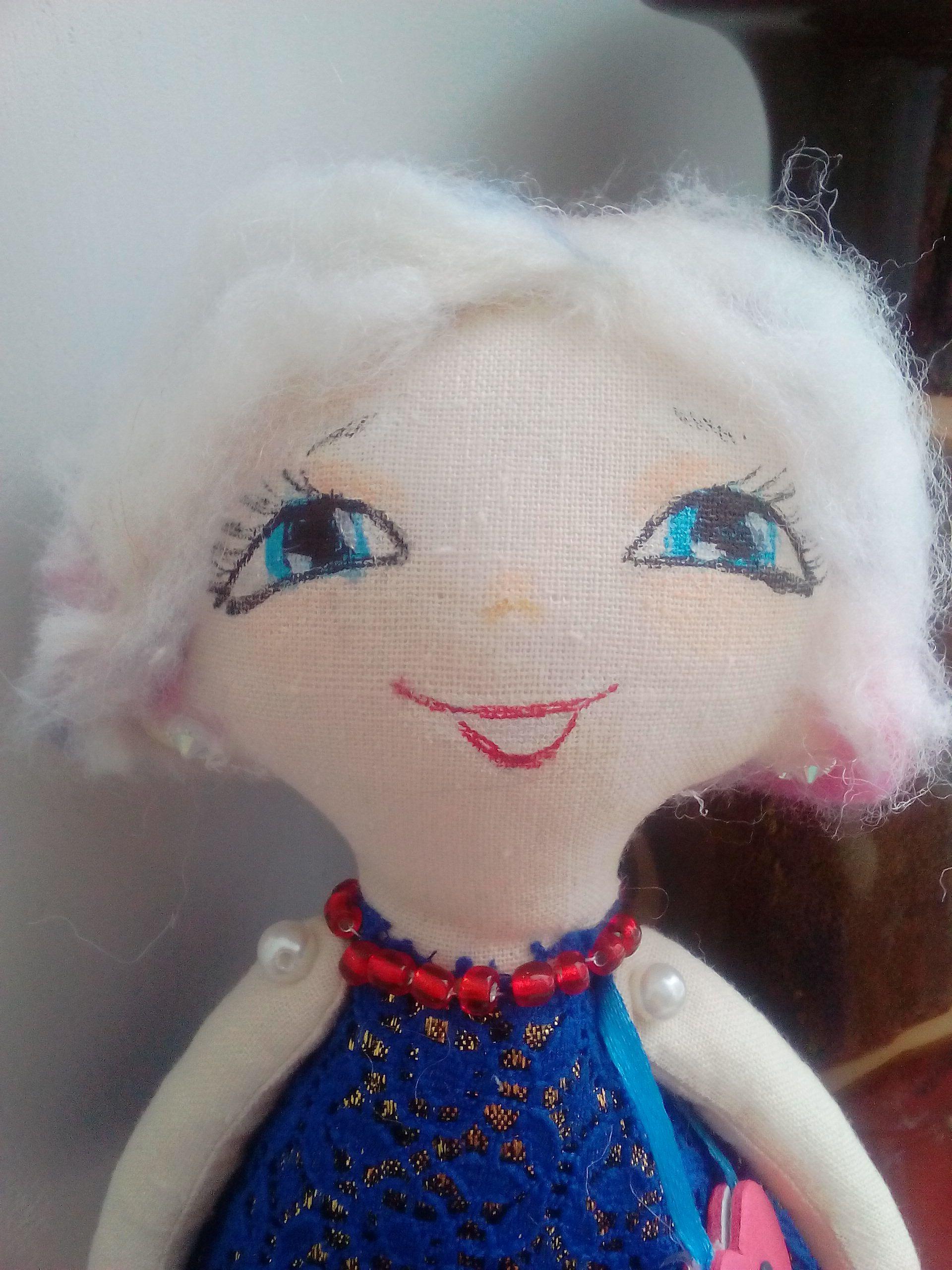 ручнаяработа игрушка кукла handmade подарок текстильнаякукла