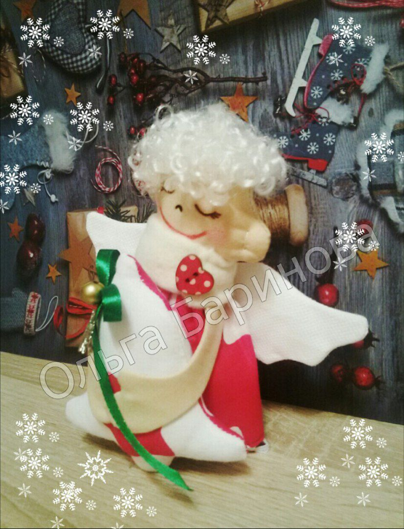 руками рождество год новый сюрприз праздник подарок ангел своими