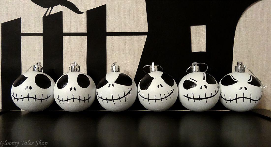 елочныеигрушки елочныешары ручнаяработа декор новыйгод праздник елка2019 handmade новыйгод2019 джек кошмар скеллингтон подарки