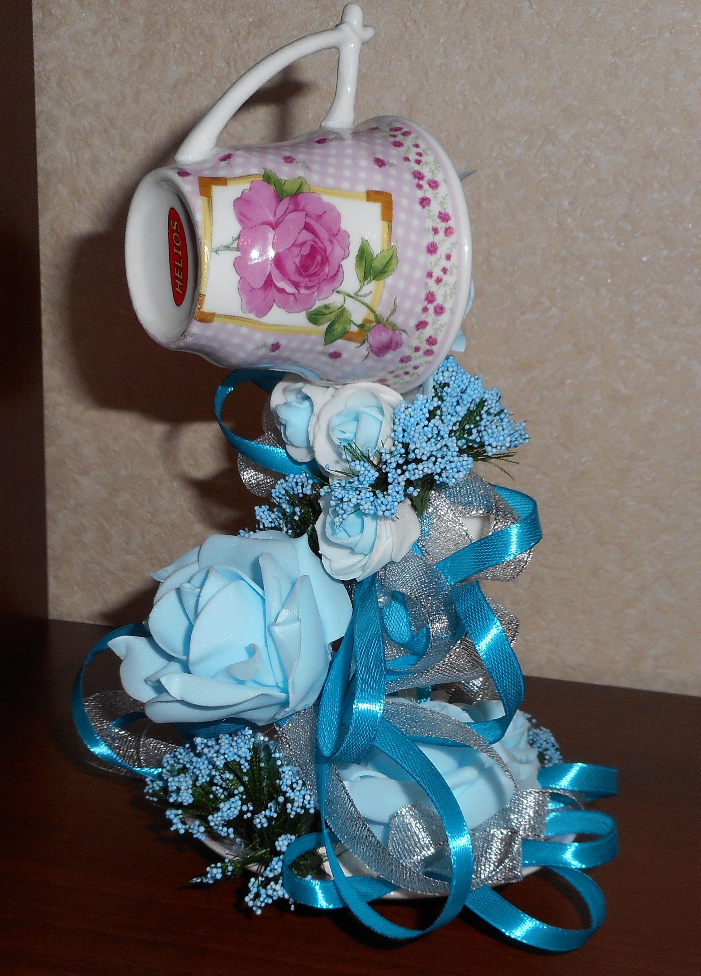 необычный подарок стразы ленты с праздник чашка любовью