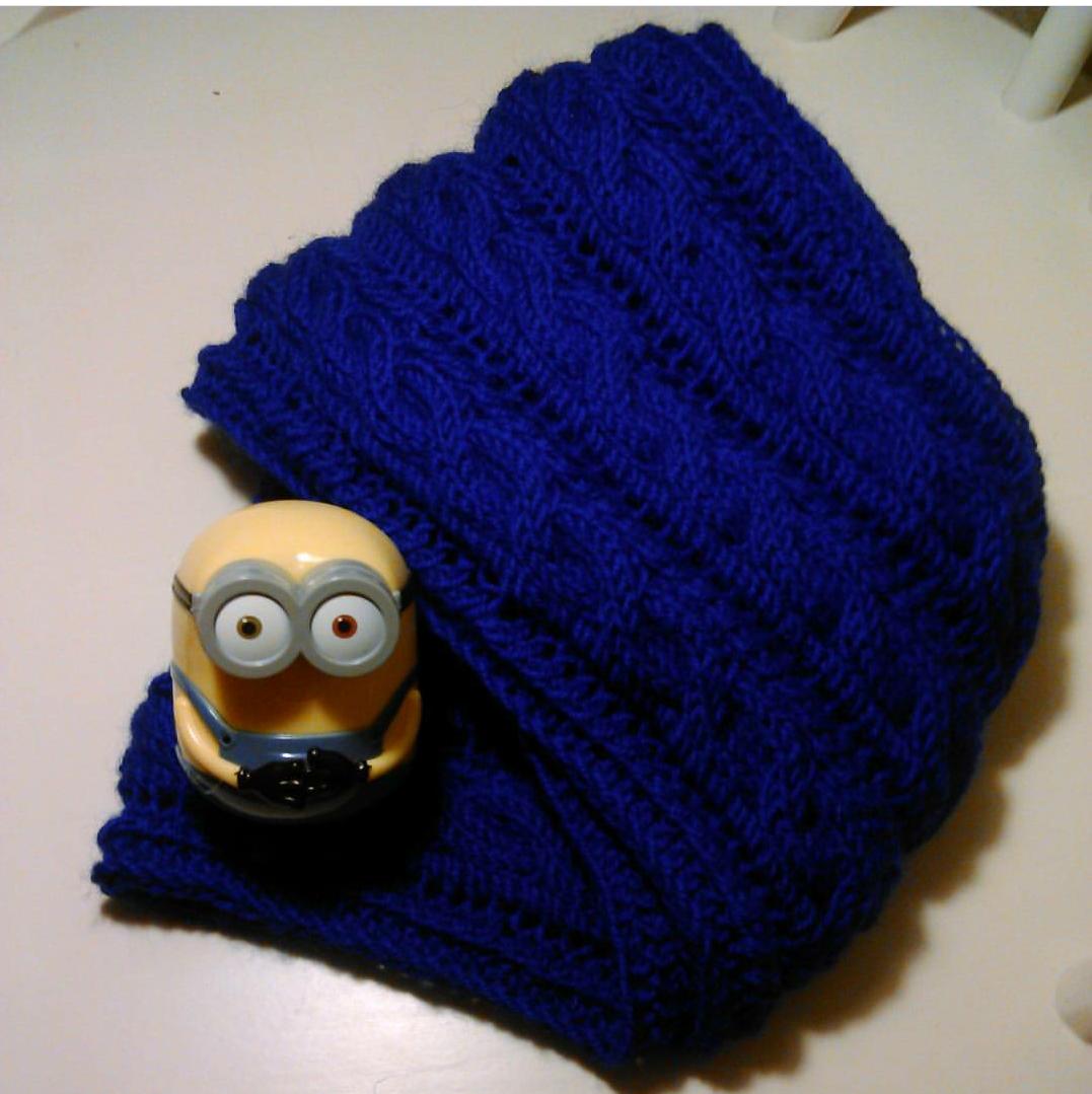 ручнаяработа шарф тепло снуд зима