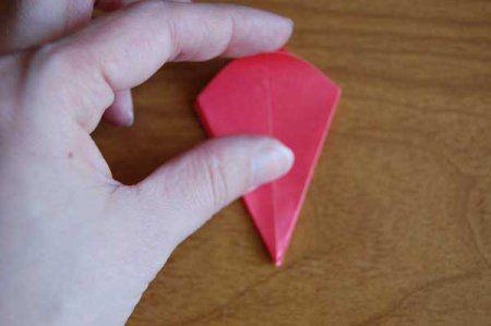 Оригами из бумаги цветы 35