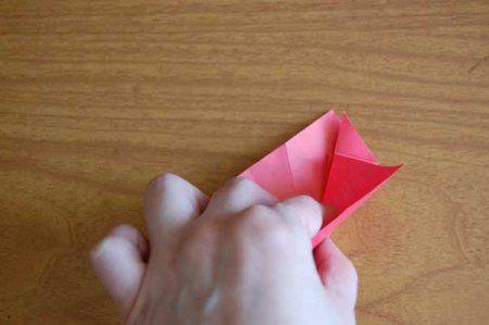 Оригами из бумаги цветы 27