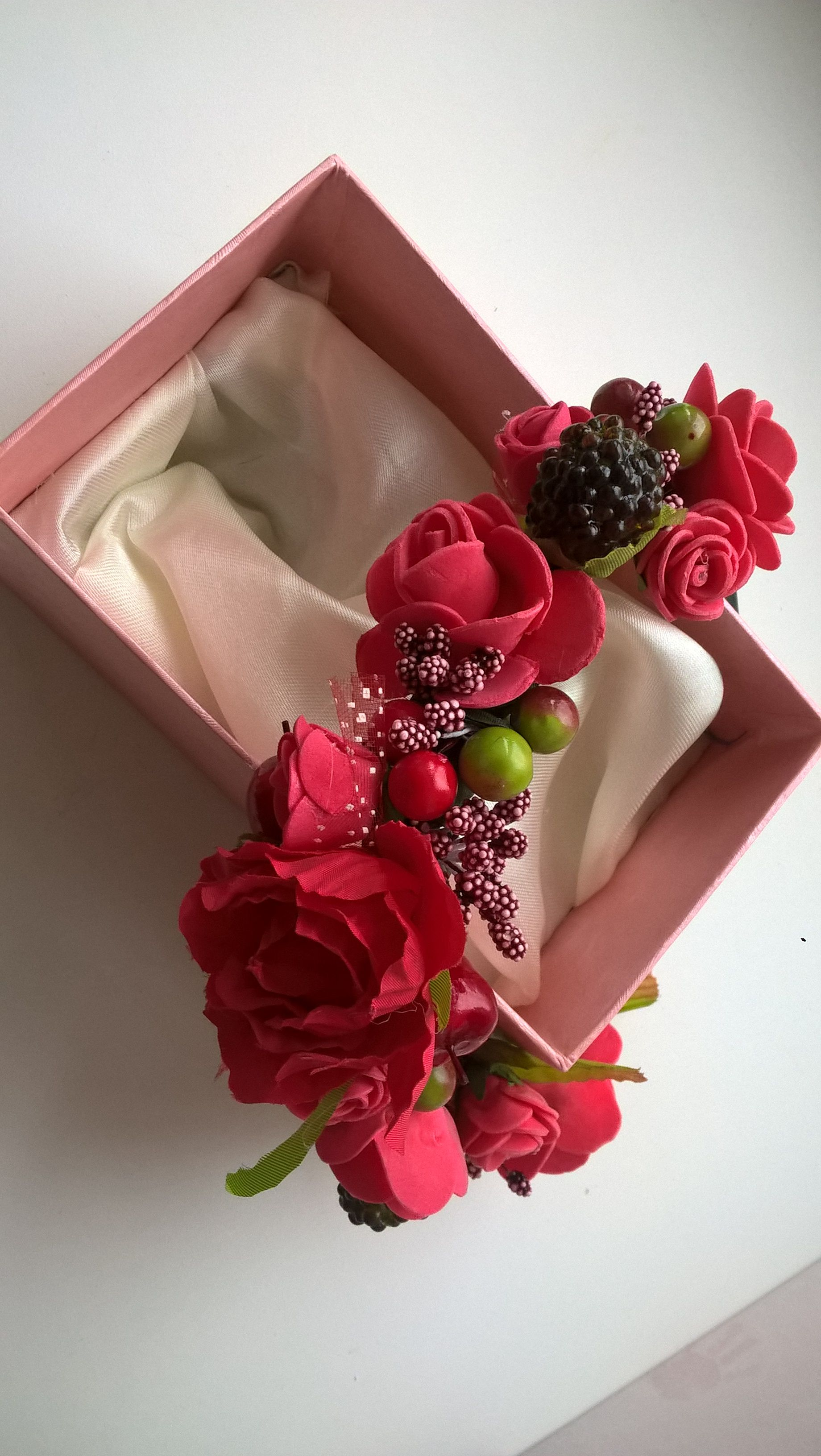 дляволос изцветов ягодки ободок аксессуар венок