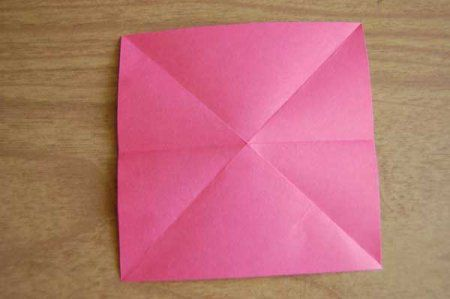 Оригами из бумаги цветы 5