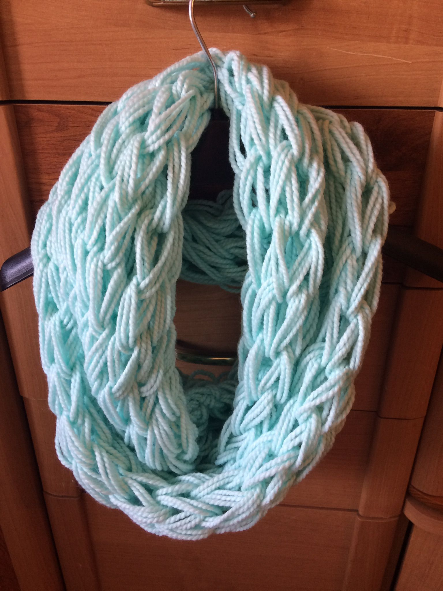 шарф труба вязка толстая снуд