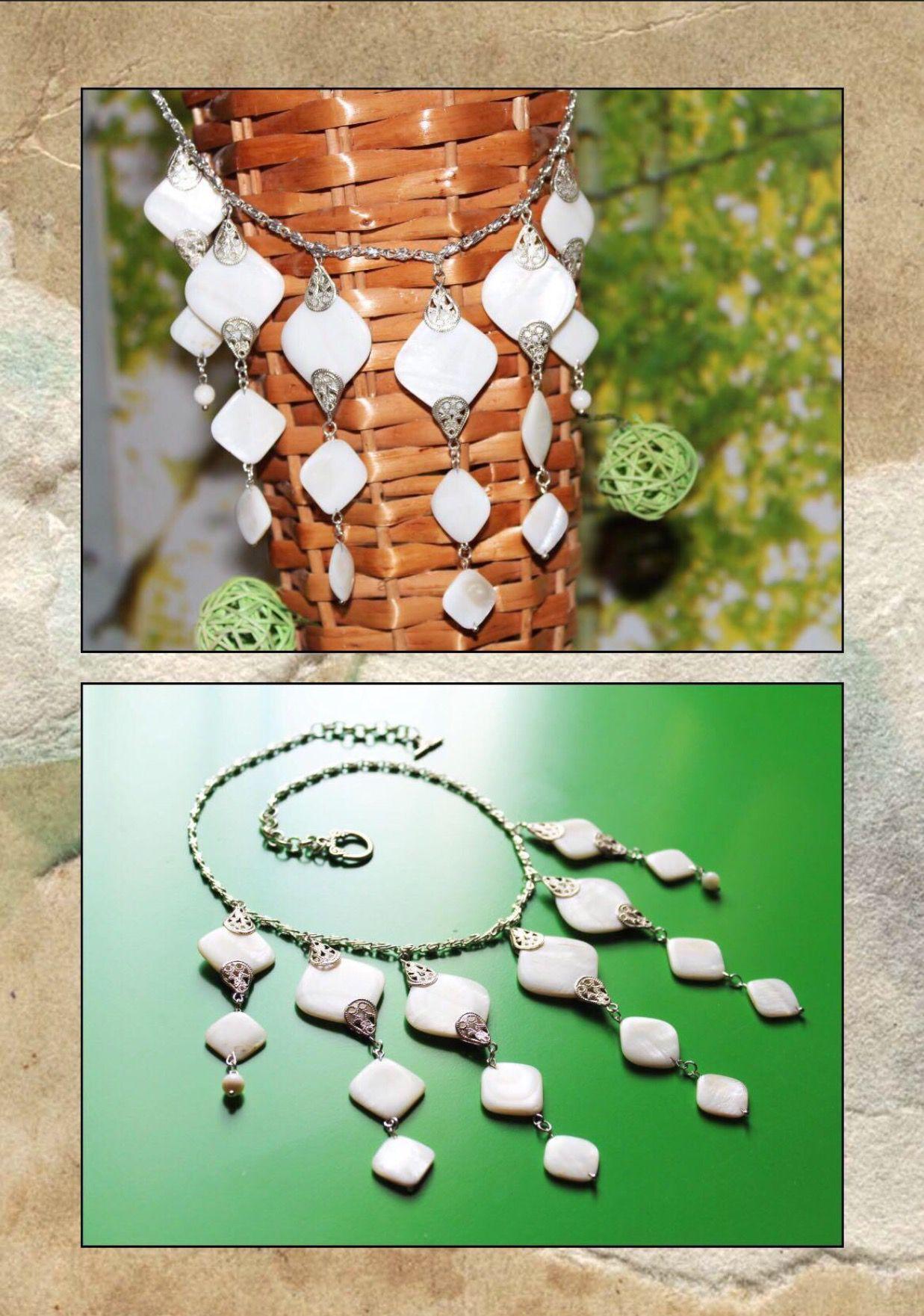 белое перламутр невест украшения подарки для ручнаяработа