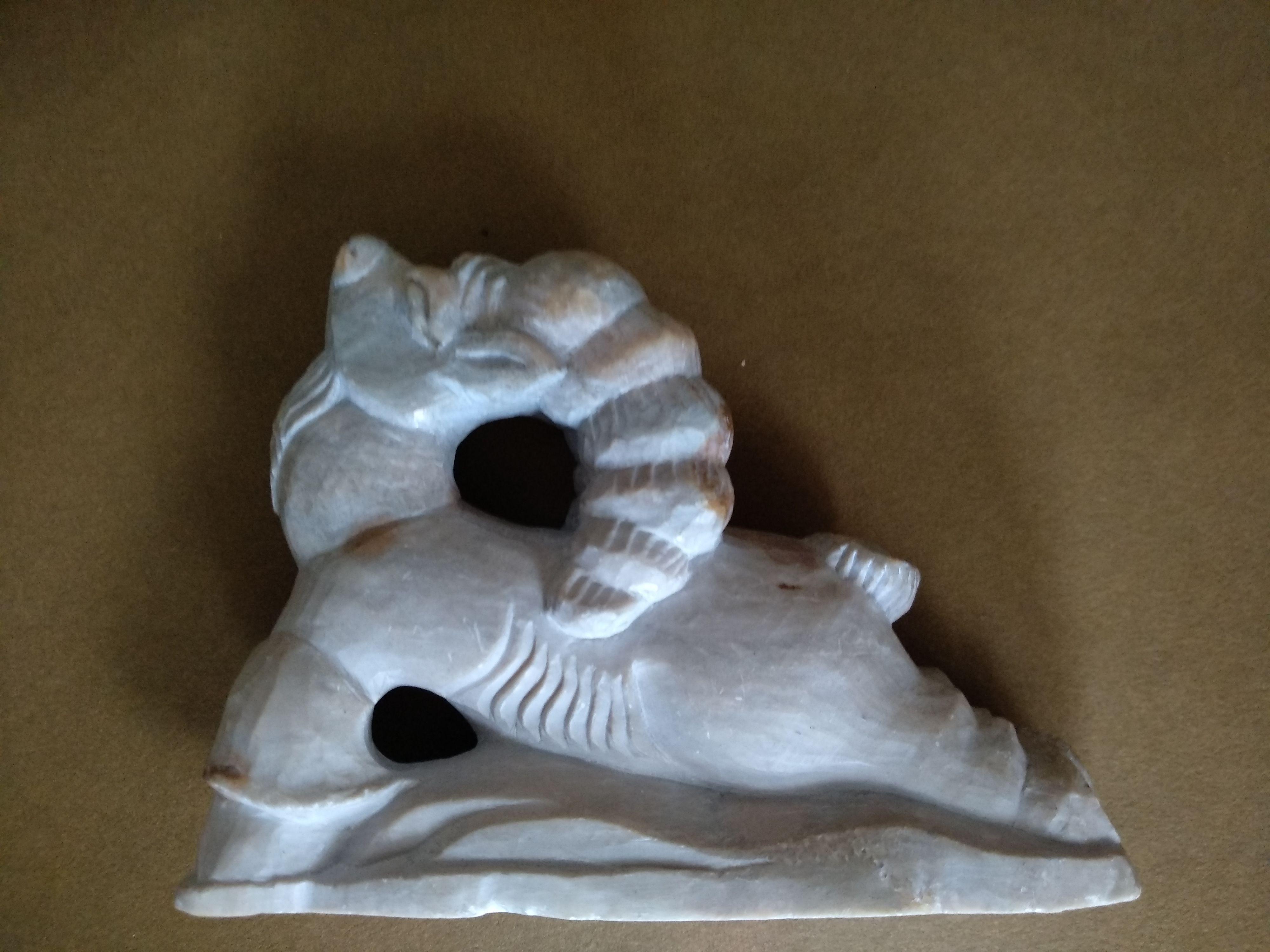 скульптура сувенир козлик подарок камню резьба