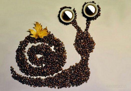 кофейных зерен картины из