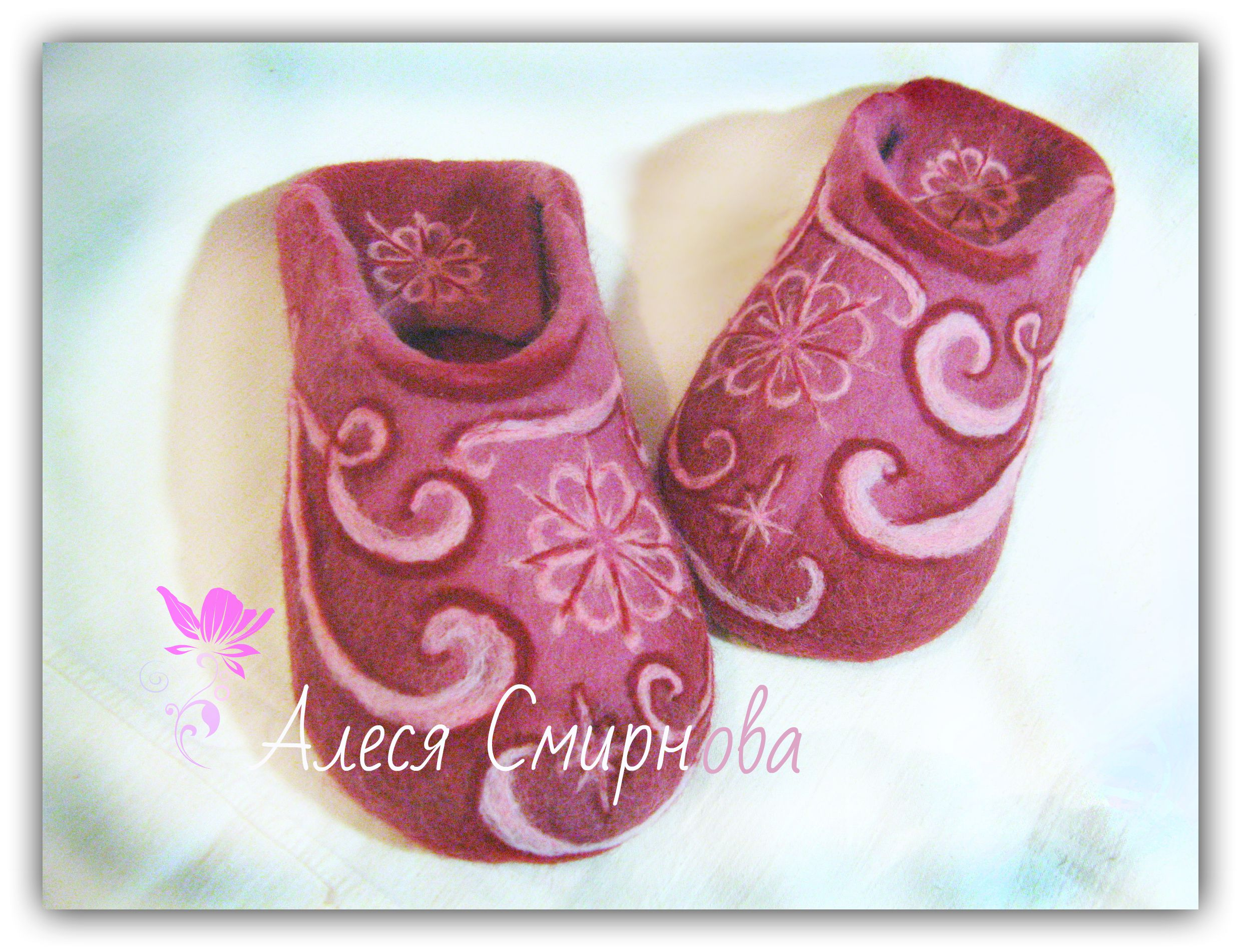 шерстная эксклюзившерстяные обувьваляные валяние шерстяные обувь валяная изделия тапочки