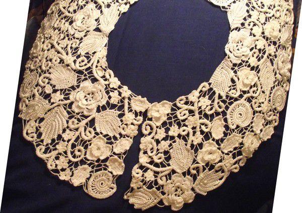 кружево винтажный воротник украшение ирландское стиль аксессуары одежда аксессуар винтаж