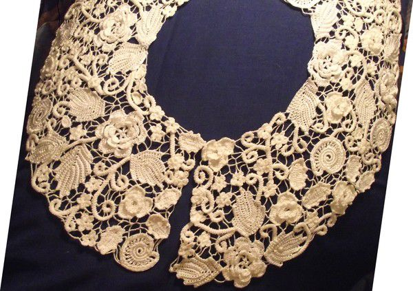 одежда аксессуар ирландское воротник кружево винтаж аксессуары винтажный стиль украшение