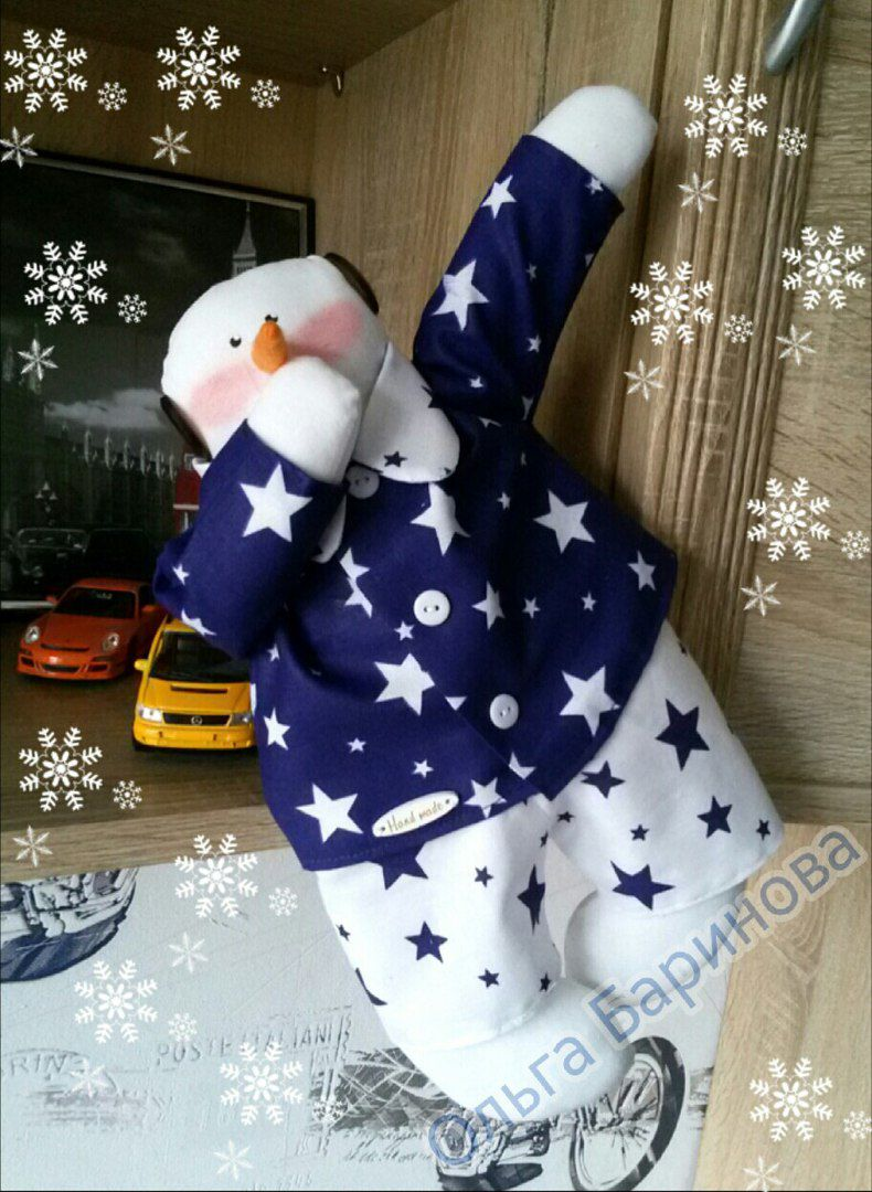 снеговик год новый