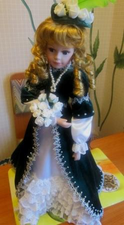 интерьерная кукла работа ручная интерьер