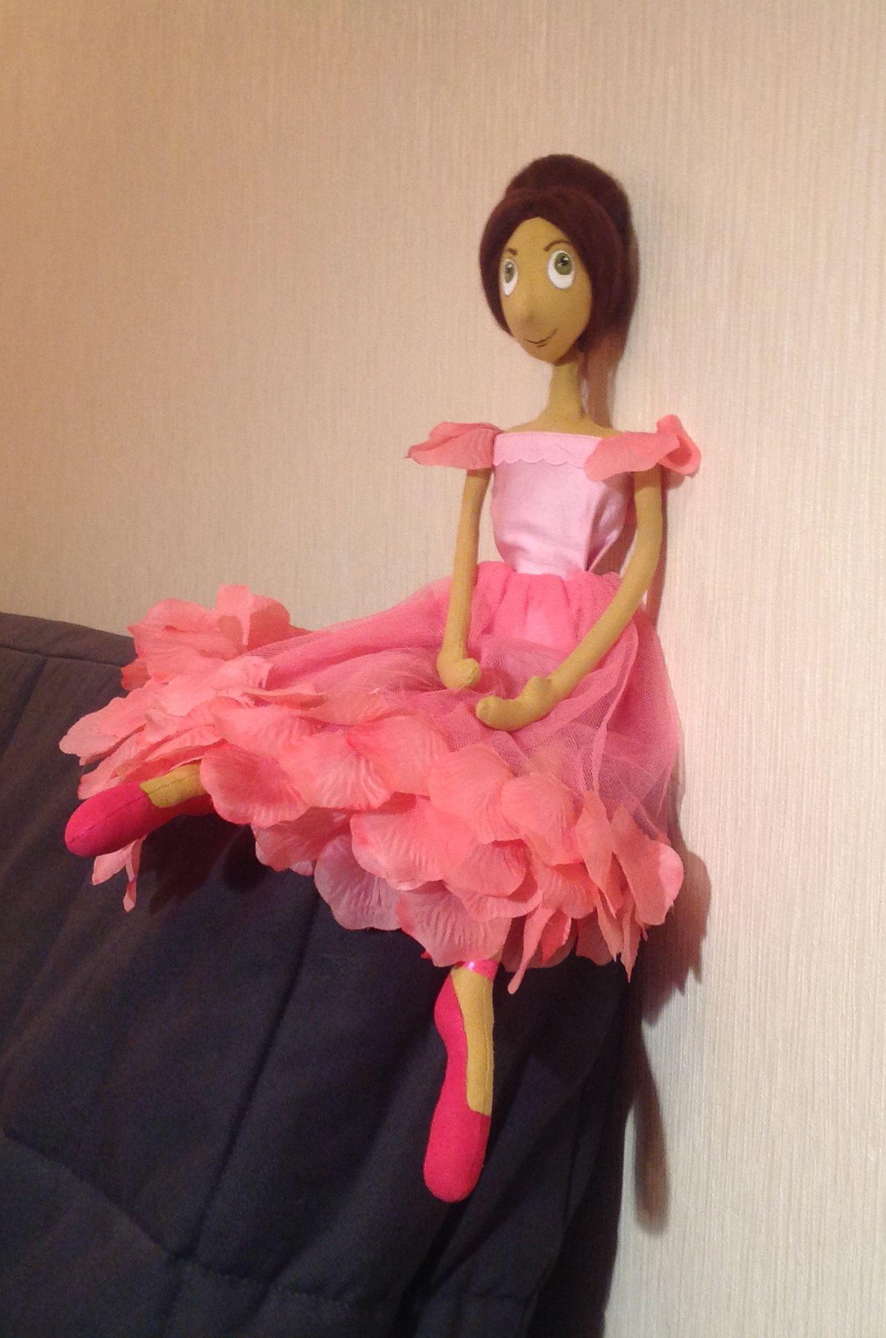 ручная кукла игрушка текстильнаякукла