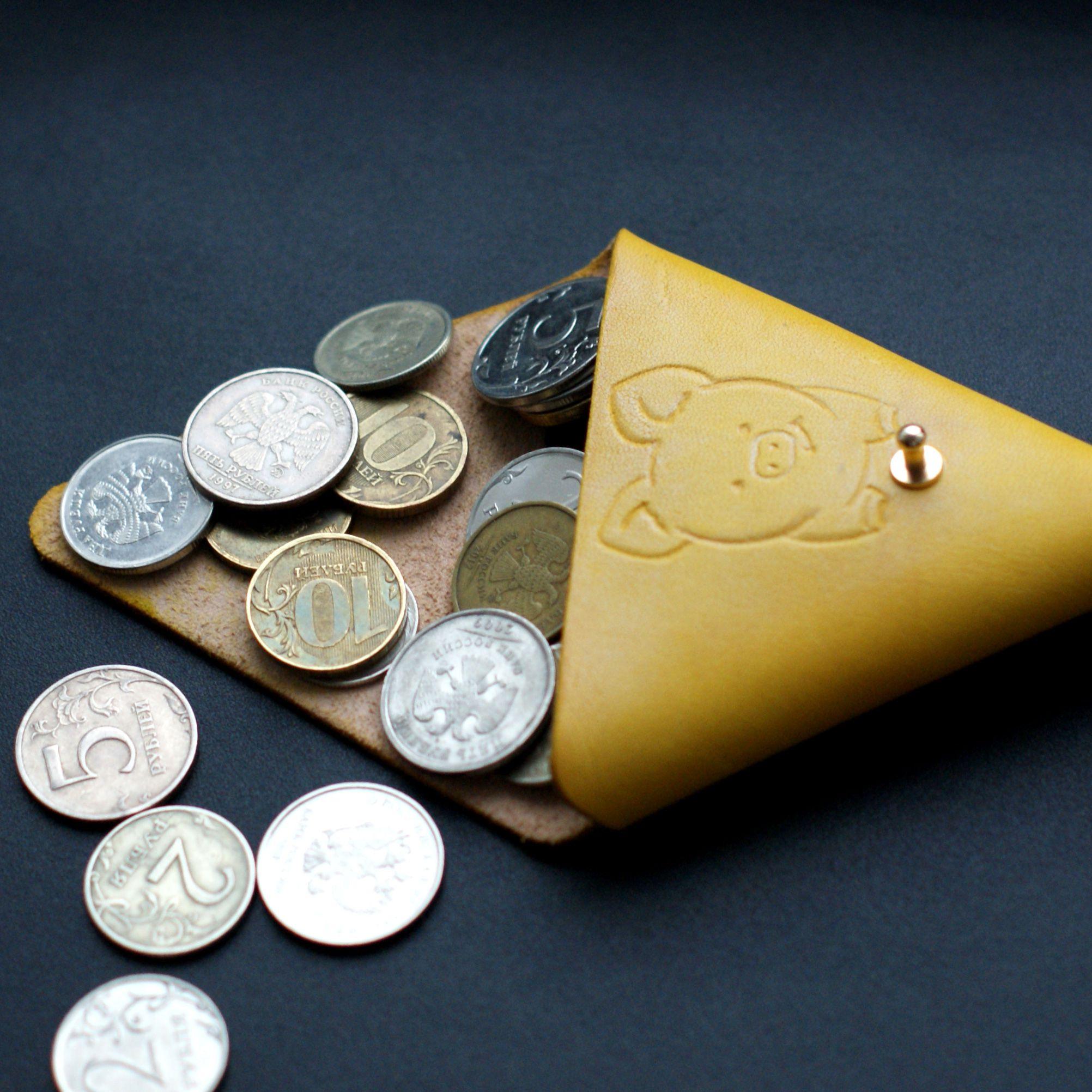 ручнаяработа монетница redcat символгода