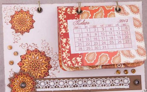Календарь своими руками 8