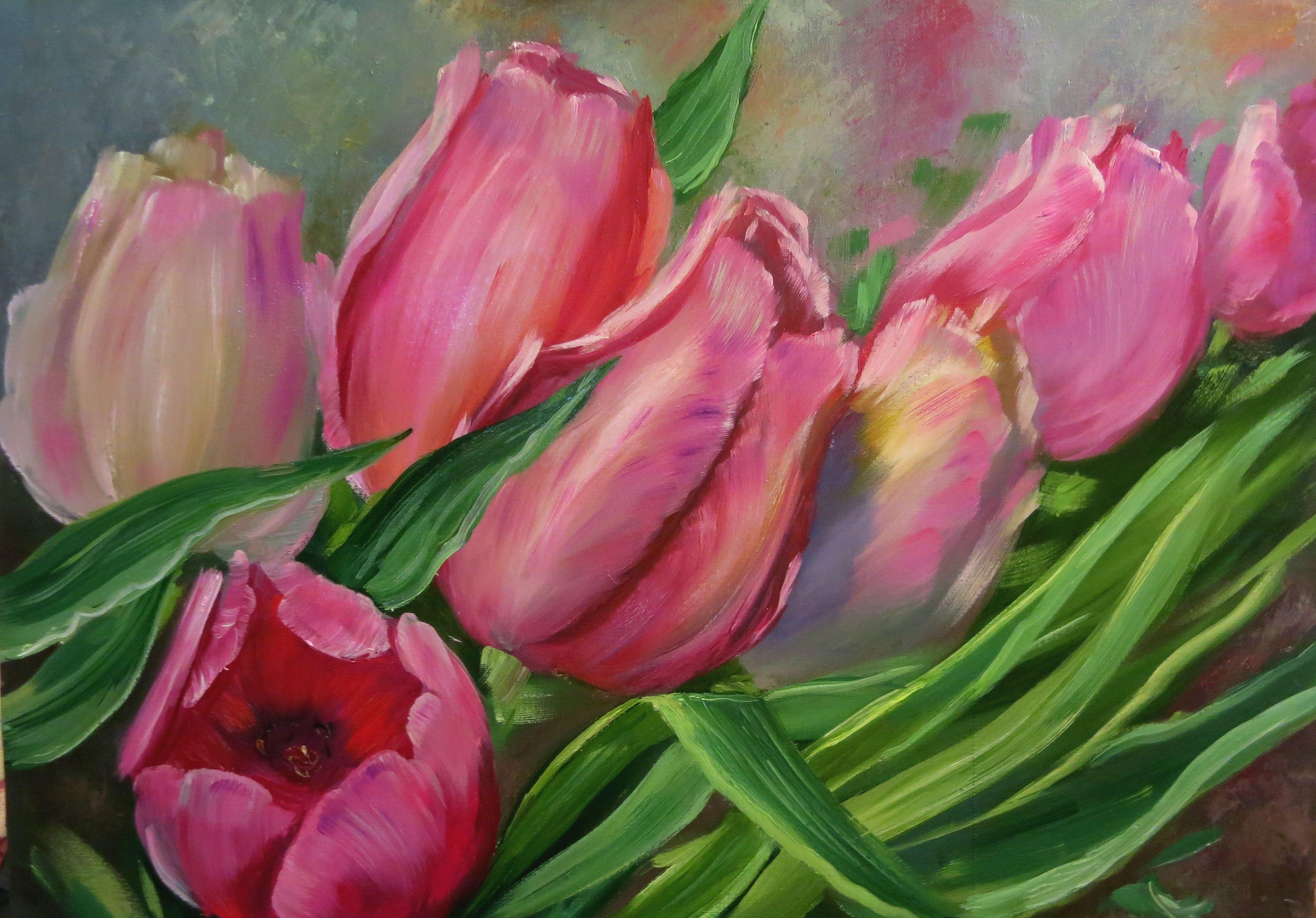маслом интерьера картина цветочная украшение пионы живопись цветы натюрморт