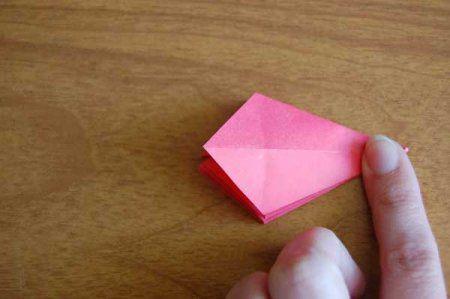 Оригами из бумаги цветы 34