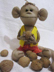 колготок капроновых обезьяна из руками своими