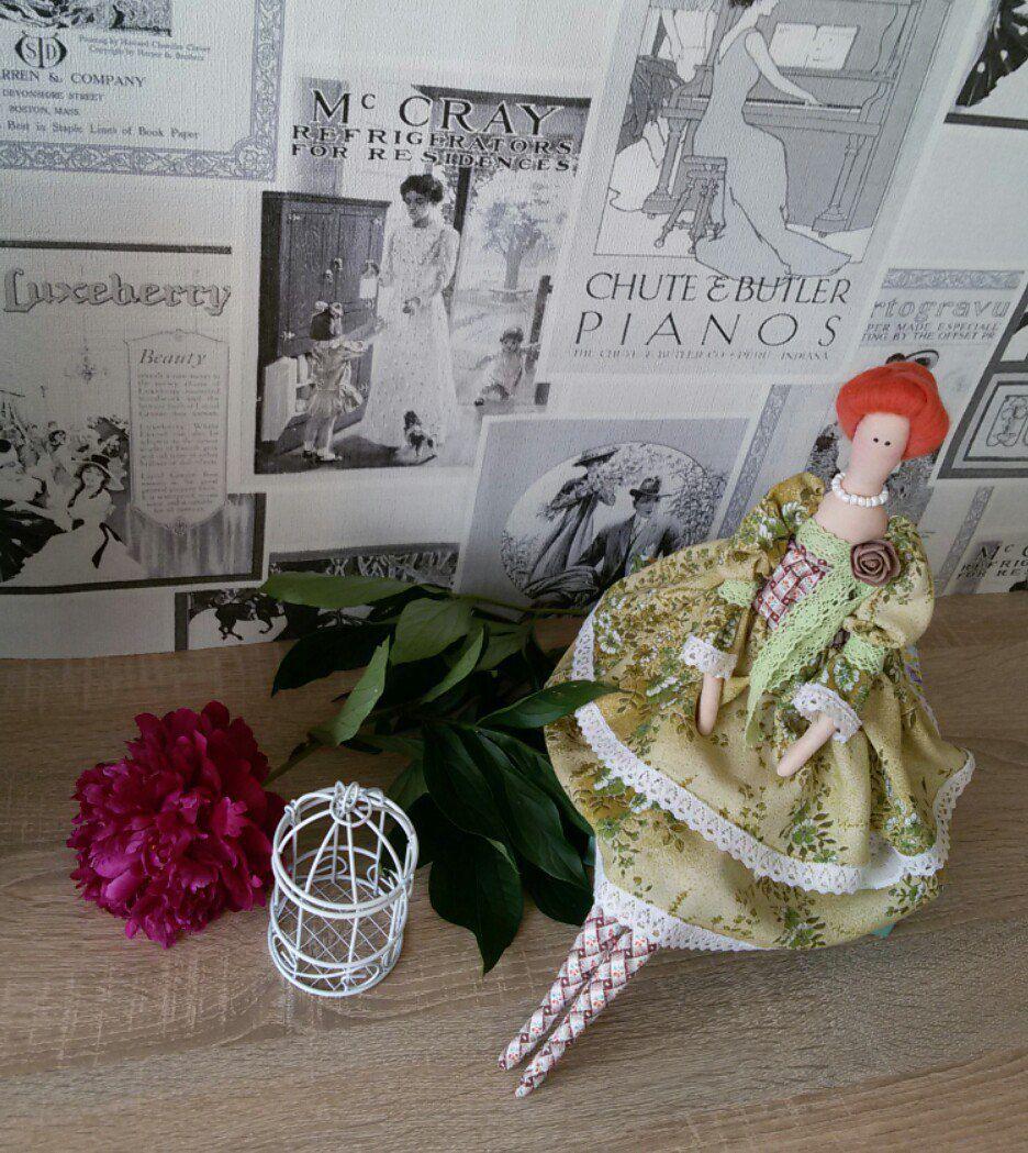 игрушка тильда хендмейд мадам тильдакукла своимируками кукла мягкаяигрушка подарок