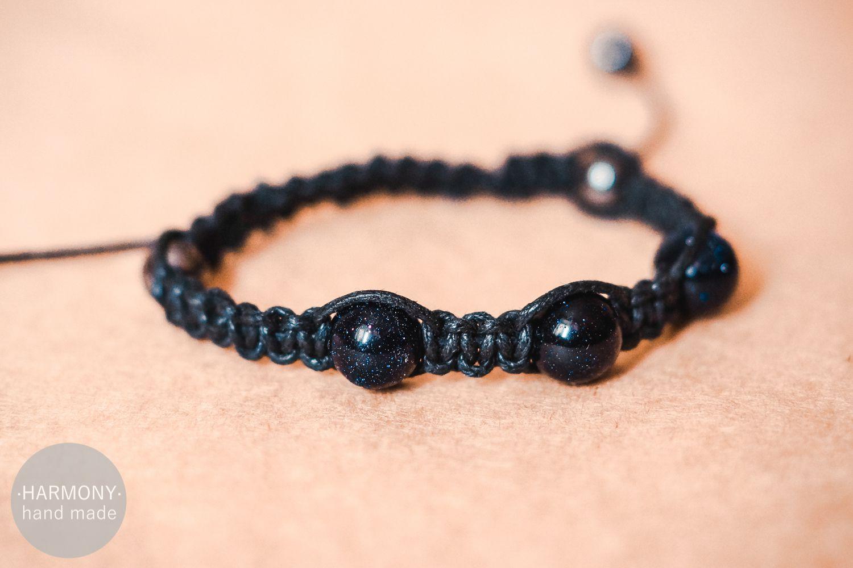 темный шамбала украшения браслет синий бижутерия
